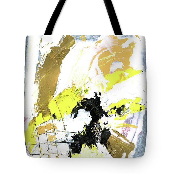 Three Color Palette Tote Bag by Michal Mitak Mahgerefteh