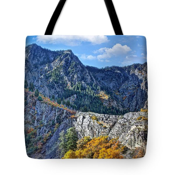 Wasatch Mountains Of Utah Tote Bag by Utah Images
