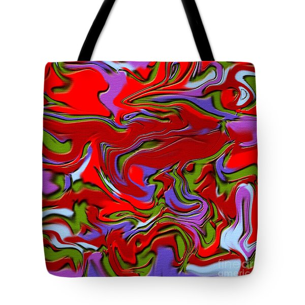 1695 Abstract Thought Tote Bag