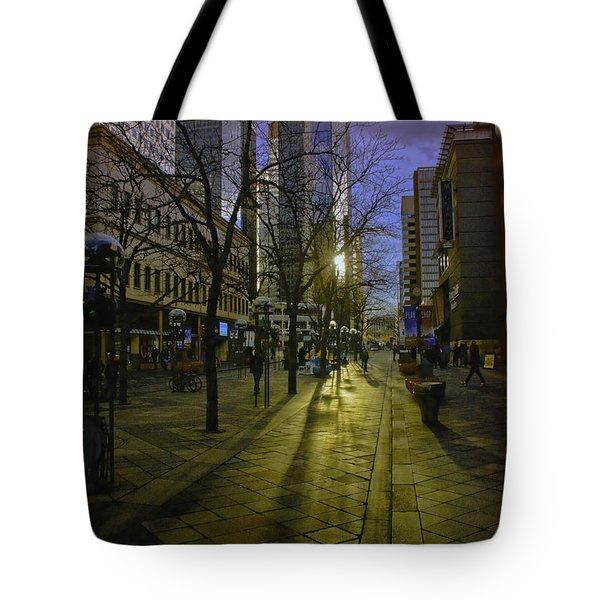 16th Street Mall Tote Bag