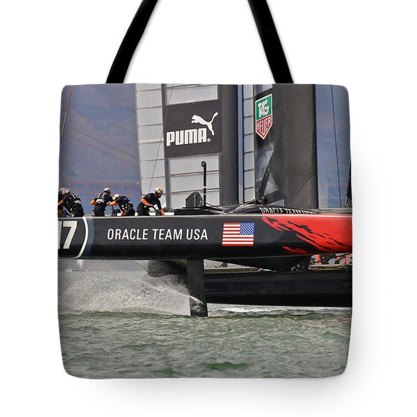 America's Cup San Francisco Tote Bag