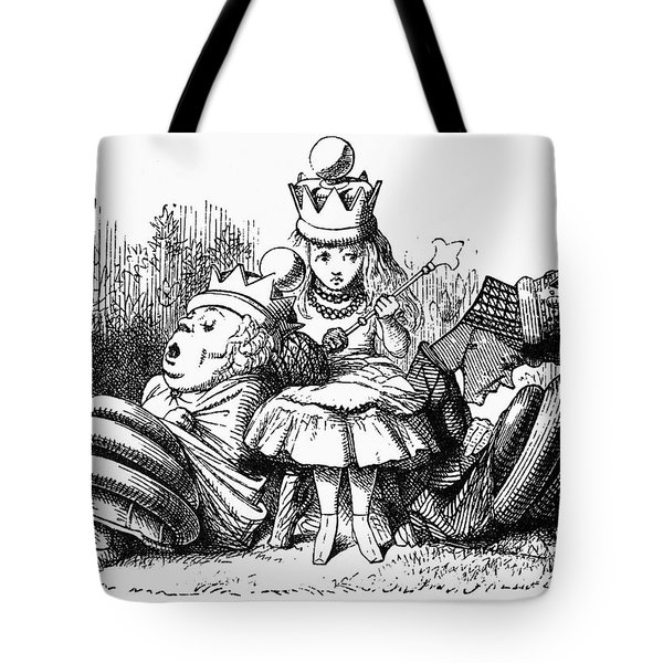 Carroll: Looking Glass Tote Bag by Granger