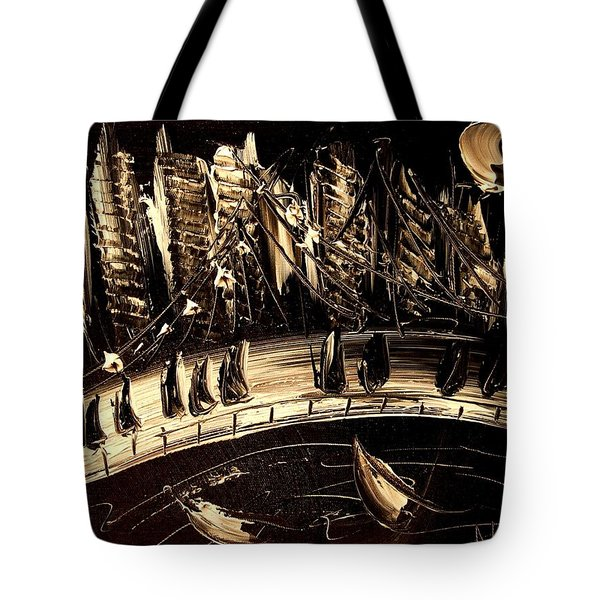 Jazz Tote Bag by Mark Kazav