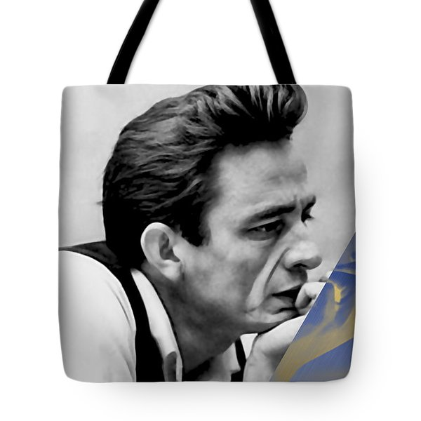Johnny Cash Collection Tote Bag