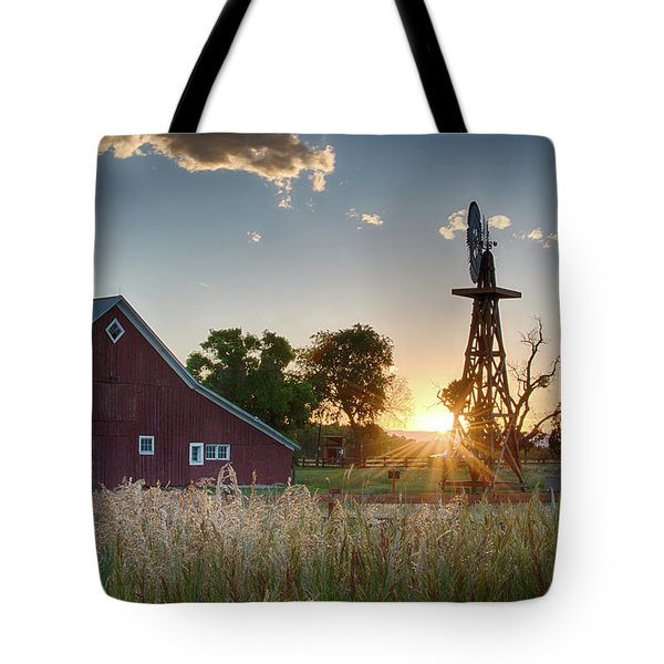 17 Mile House Farm - Sunset Tote Bag