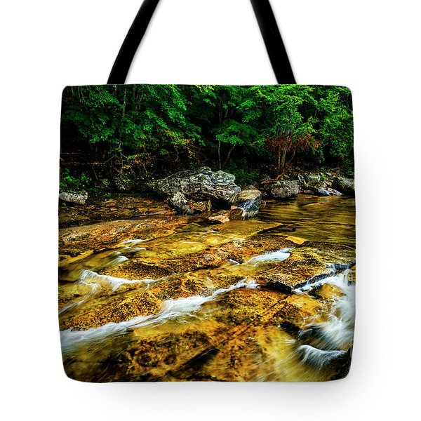 Tote Bag featuring the photograph Williams River Summer by Thomas R Fletcher