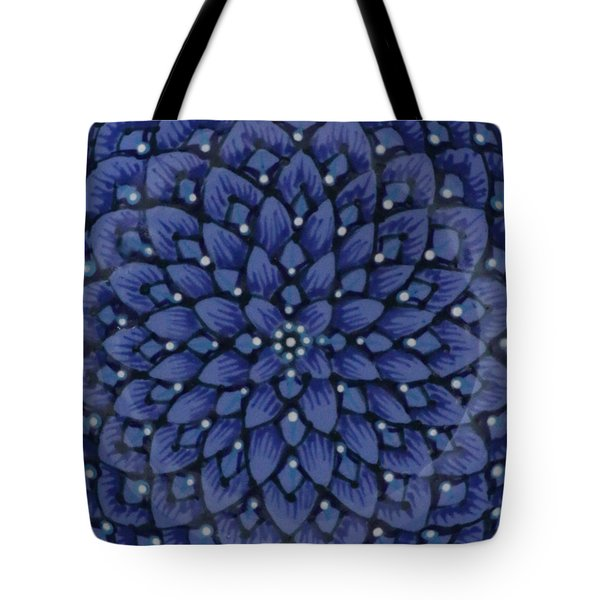 Tote Bag featuring the ceramic art #1701 by Kym Nicolas