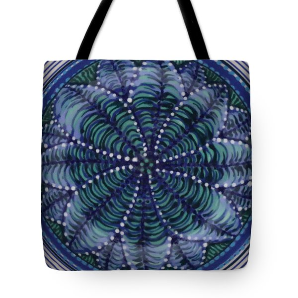 Tote Bag featuring the ceramic art #1702 by Kym Nicolas
