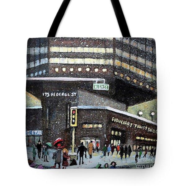 175 Federal Street Tote Bag by Rita Brown