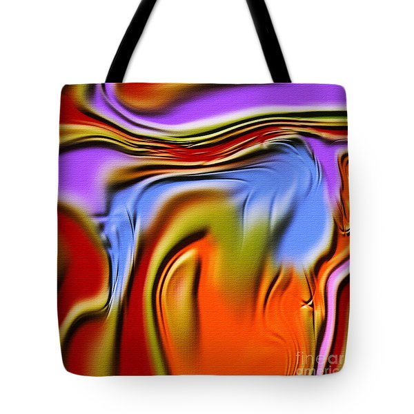 1765 Abstract Thought Tote Bag