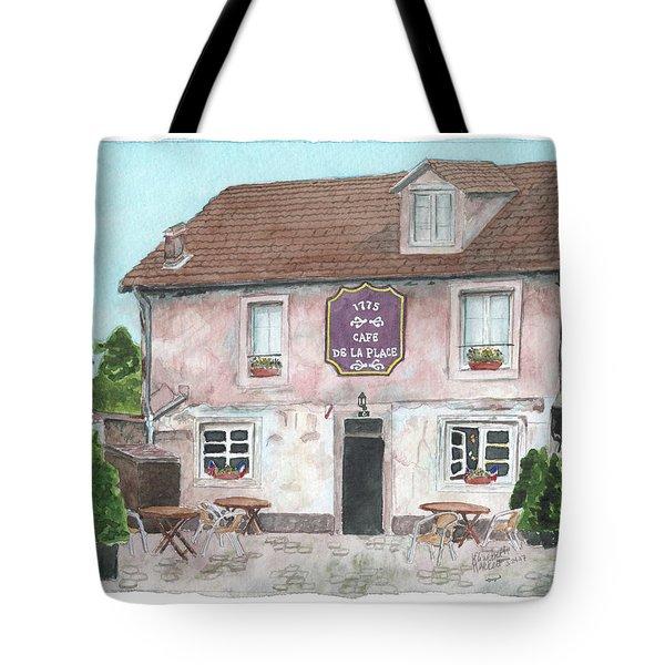 1775 Cafe De La Place Tote Bag