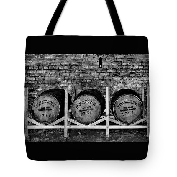 1787 Whiskey Barrels Tote Bag