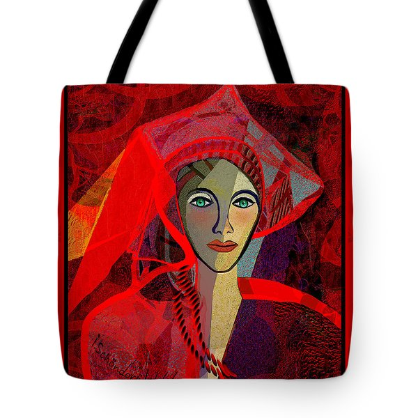 1791 - The Lady In Red 2017 Tote Bag