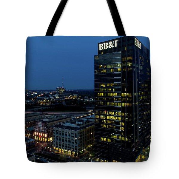 17th Street Skyline Tote Bag