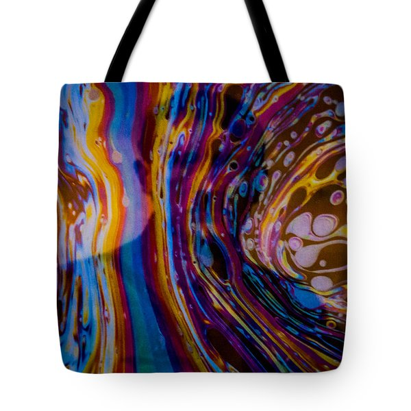 Tote Bag featuring the photograph 18-3 by Randy Sylvia