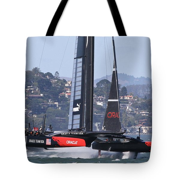 America's Cup Oracle Tote Bag