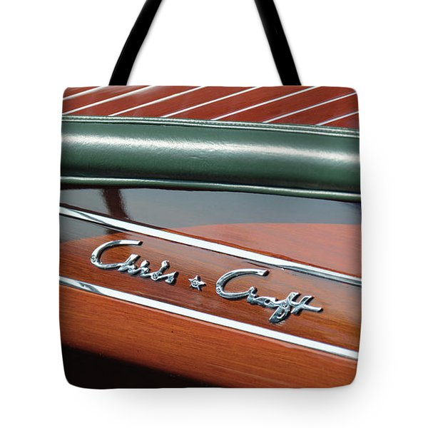 Classic Chris Craft Tote Bag