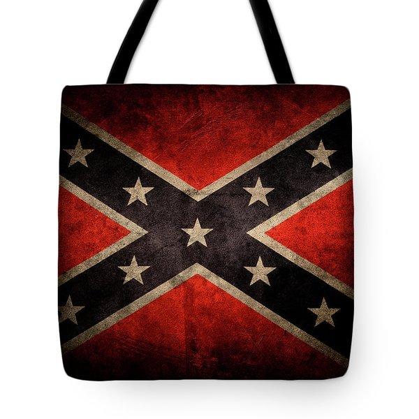 Confederate Flag 7 Tote Bag