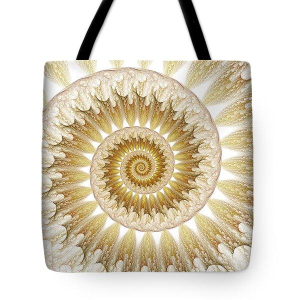 Tote Bag featuring the digital art 18 Karat by Lea Wiggins