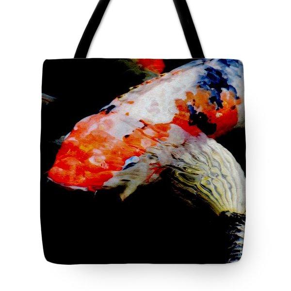 Koi Fish Tote Bag by Werner Lehmann