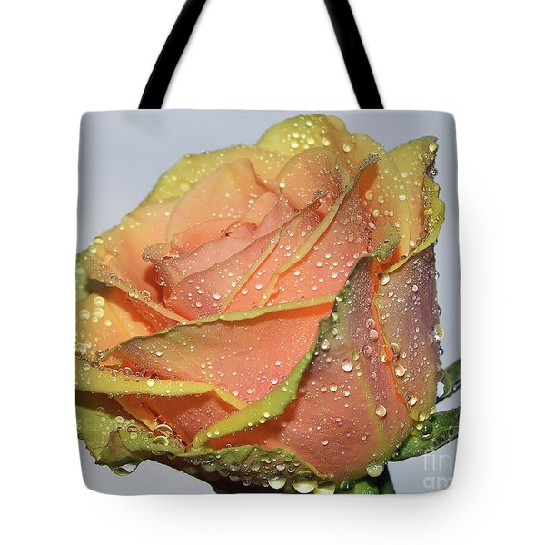 Tote Bag featuring the photograph Rose by Elvira Ladocki