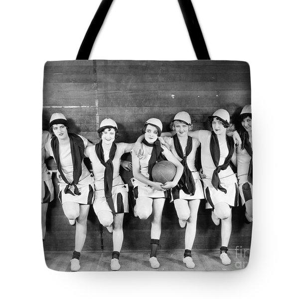 Silent Film Still: Sports Tote Bag by Granger