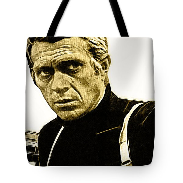 Steve Mcqueen Collection Tote Bag