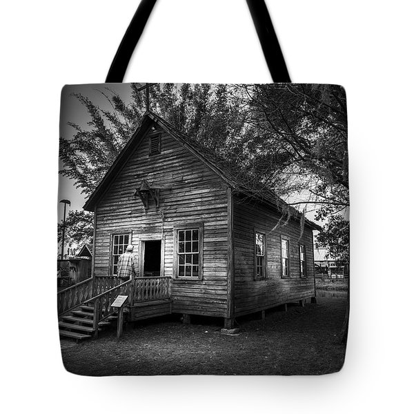 1800's Florida Church Tote Bag by Marvin Spates
