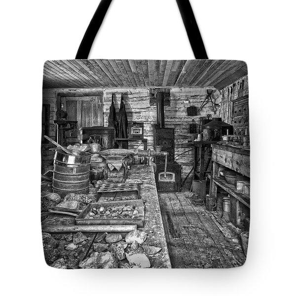 1860's Ore Assay Office Shop - Montana Tote Bag by Daniel Hagerman