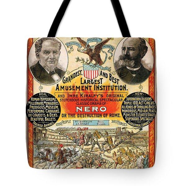 1890 - Circus Poster Tote Bag