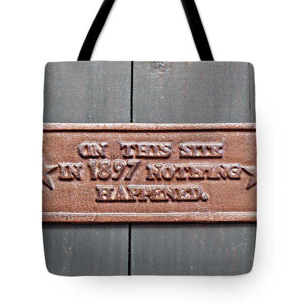 1897 Tote Bag
