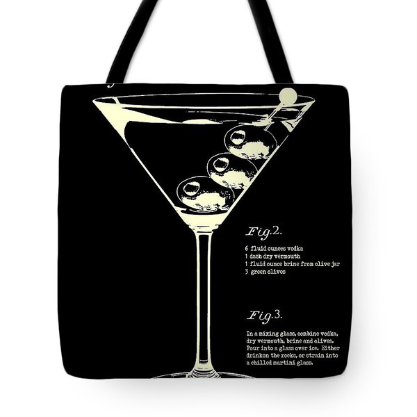 1897 Dirty Martini Patent Tote Bag