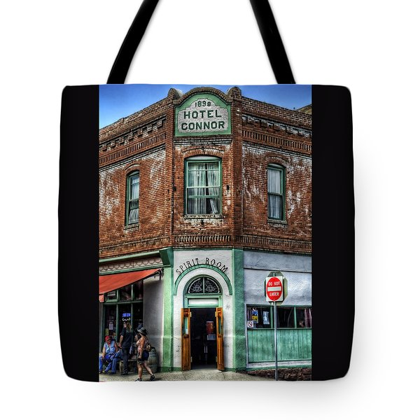 1898 Hotel Connor - Jerome Arizona Tote Bag