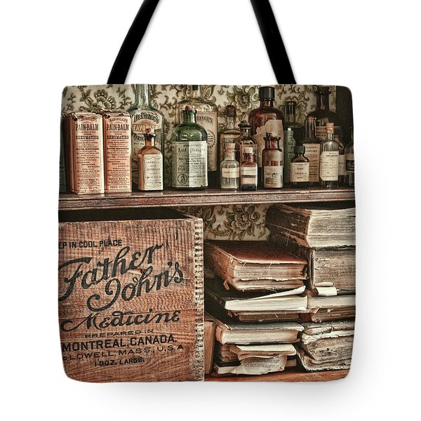 18th Century Pharmacy Tote Bag