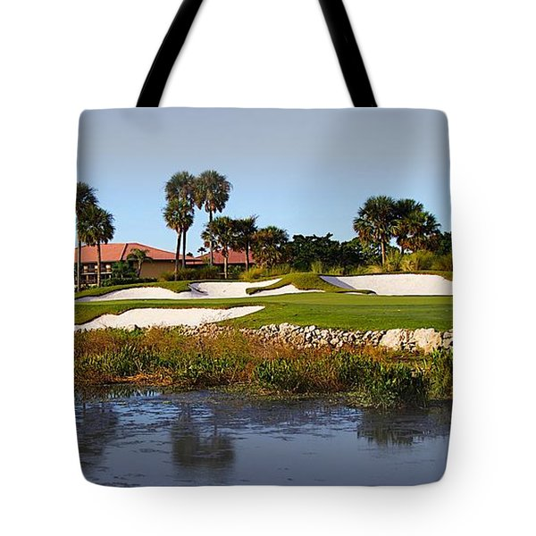 18th Hole Tote Bag