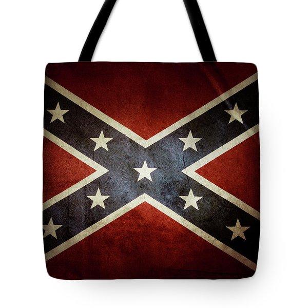 Confederate Flag 12 Tote Bag