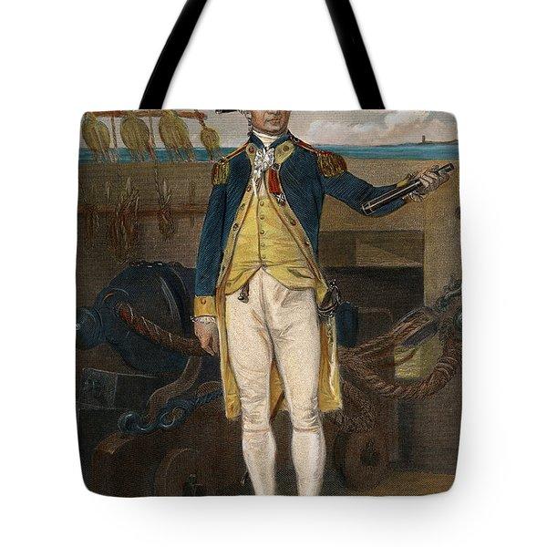 John Paul Jones, 1747-1792 Tote Bag
