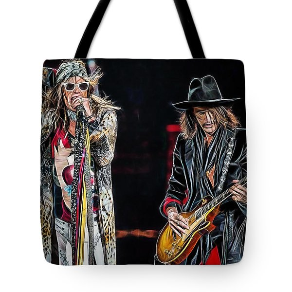 Steven Tyler Collection Tote Bag by Marvin Blaine