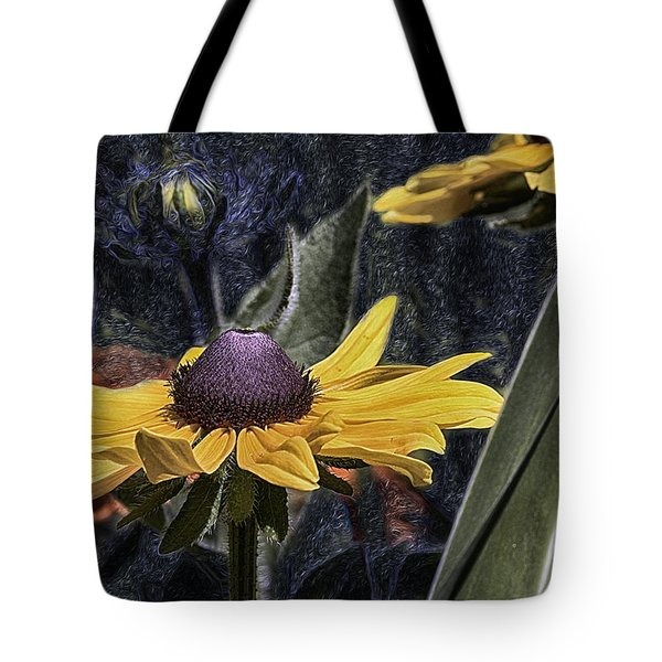 Thinking Of Vincent Van Gogh Tote Bag