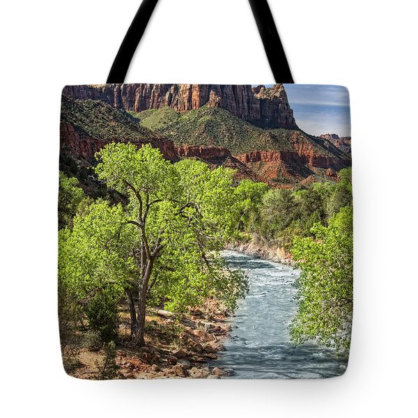 Zion National Park Tote Bag