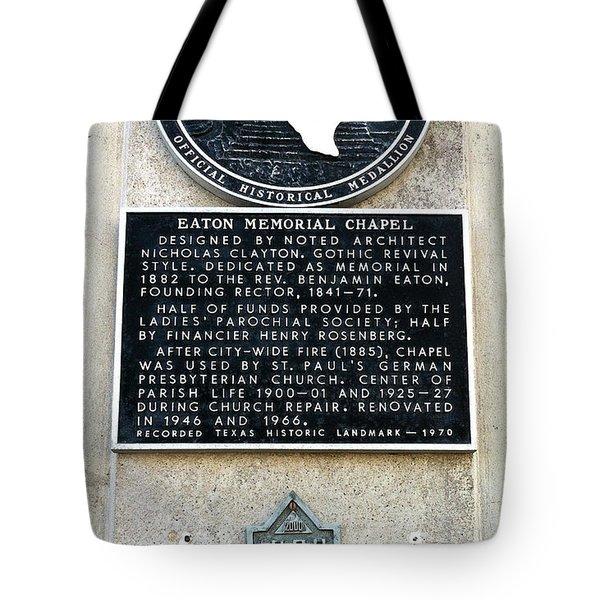 1900 Storm Galveston Tote Bag