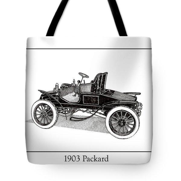 1903 Packard Tote Bag by Jack Pumphrey