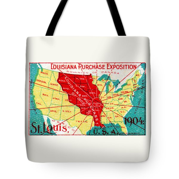 1904 Louisiana Purchase Exposition Tote Bag