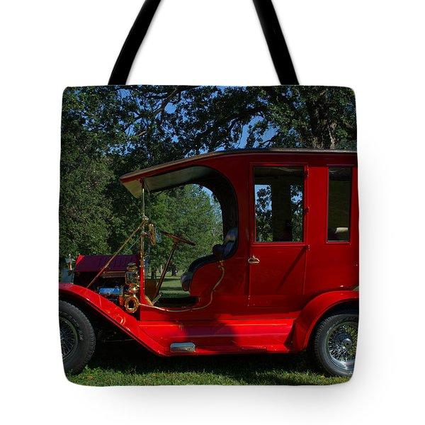 1909 Ford Model T Limo Custom Hot Rod Tote Bag