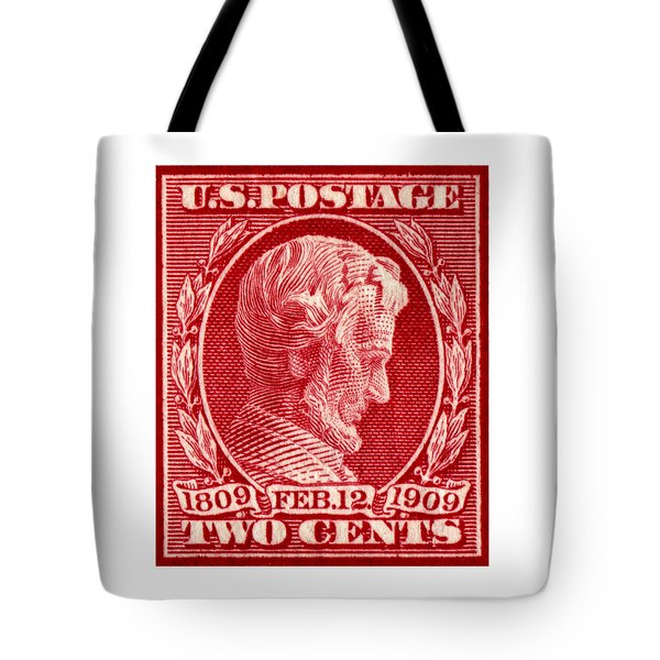 1909 Lincoln Centenary Stamp Tote Bag