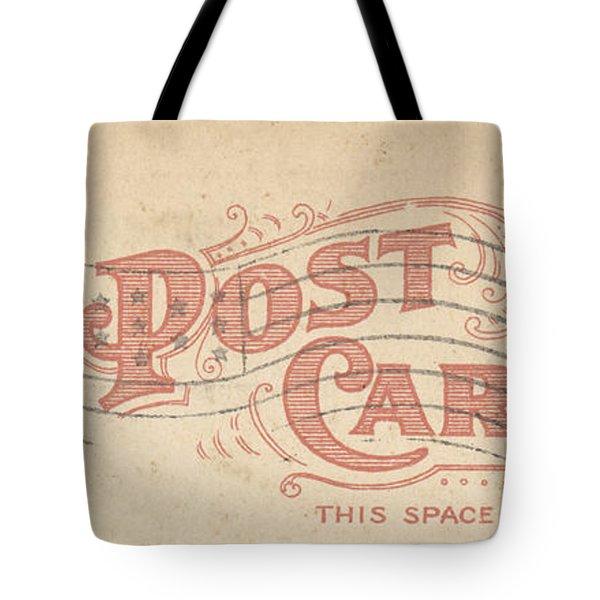 1909 Postcard Tote Bag