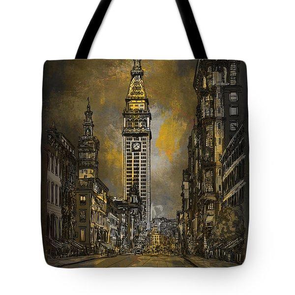 1910y Madison Avenue Ny. Tote Bag