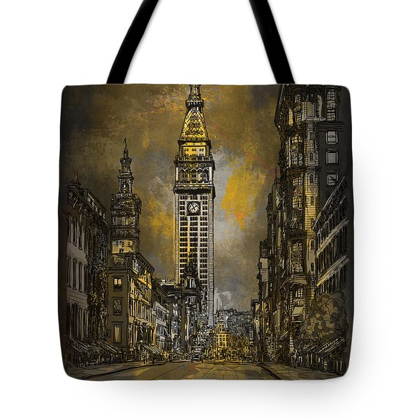 1910y Madison Avenue Ny. Tote Bag