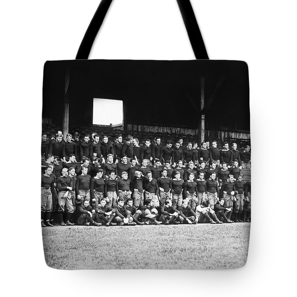 1912 Yale Football Team Tote Bag