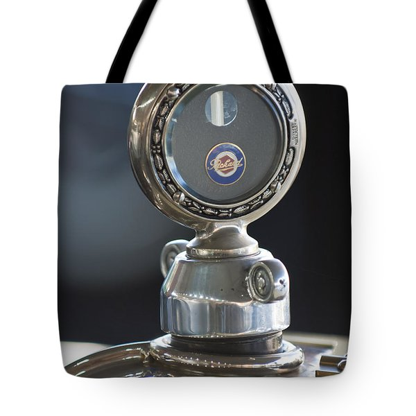 1916 Packard Hood Ornament  Tote Bag by Jill Reger